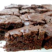 The healthy zucchini chocolate cake